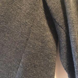 MM Lafleur Sweaters - MM Lafleur Ono Cardigan Sweater Shadow Gray L